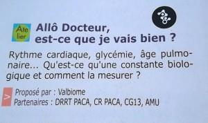 annonce allo docteur VDS-2014